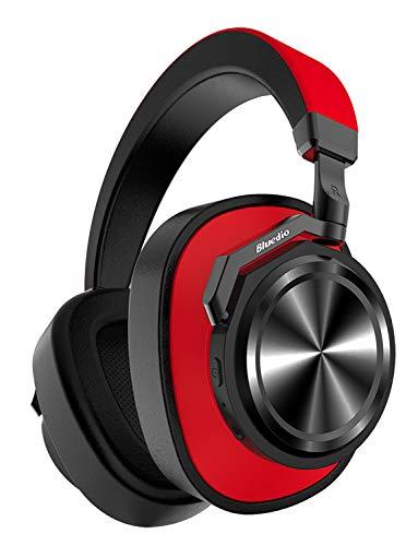 05ae6605f3 Bluedio T6 (Turbine) Auriculares Bluetooth 5.0, reducción Activa de Ruido,  micrófono,