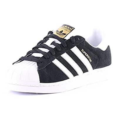 on sale 37de4 35149 ... Casual Shoes  ›  Sneakers  ›  adidas Originals Men s Superstar East  River Rivalry Core Black and Gold Leather