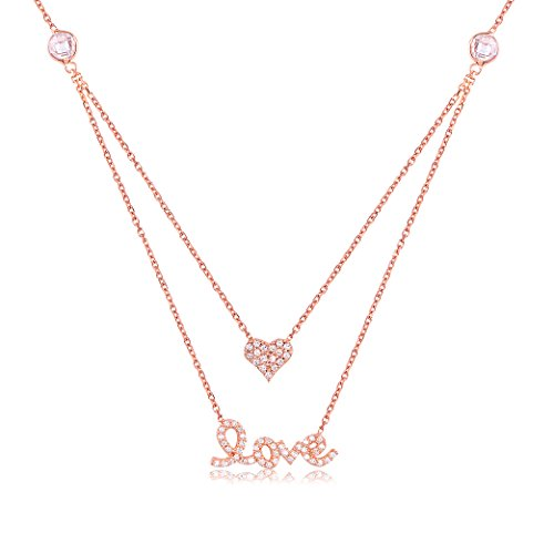 Ingenious Jewellery - Collar de plata con zirconia