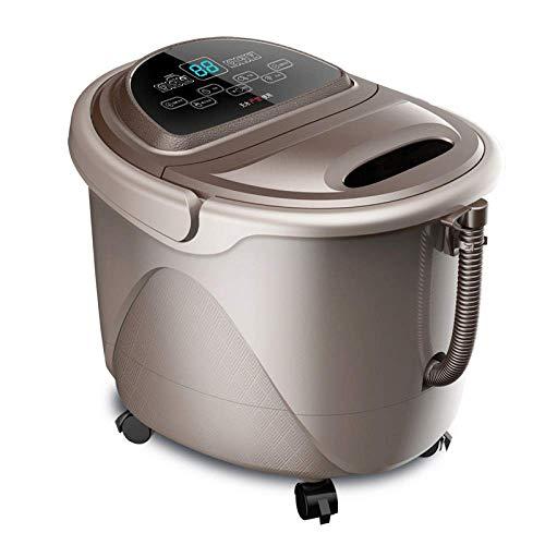 Fußbad Vollautomatische Massage Haushalt Fußbad Barrel Thermostat Elektrische Fußtherapie Maschine Deep Bucket Fußbecken