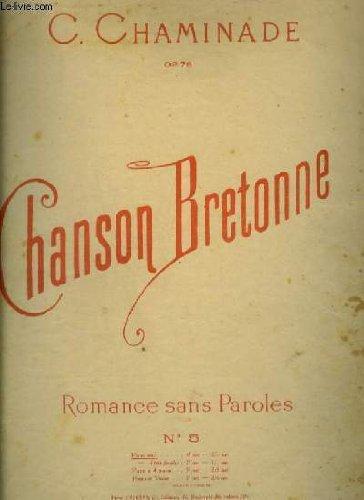 CHANSON BRETONNE - ROMANCE SANS PAROLES - N°5.