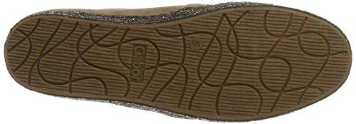 Gabor Shoes Comfort, Scarpe da Ginnastica Basse Donna Marrone (walnut kristall)