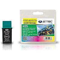 Jet Tec Ink Cartridge M25Remanufactured Ink Cartridge 3-Colour DeskJet 310/320/400/420°C/500°C/550°C/560°C
