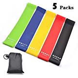 Panda Resistance Bands Set,Workout Resistance Loop Bands,Physical Therapy,Pilates and Yoga Strength Training,Exercise Bands for Legs and Butt,Exercise Resistance Loop Bands for Home Fitness