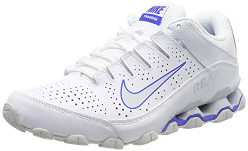 Nike Herren Reax 8 TR Cross-Trainer, Weiß (White/Pure Platinum-Racer Blue-Red Orbit 103), 43 EU