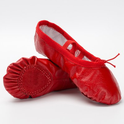 Wuyulunbi@ Scarpe da ballo fondo morbido Kungfu scarpe scarpe da ballo Gules