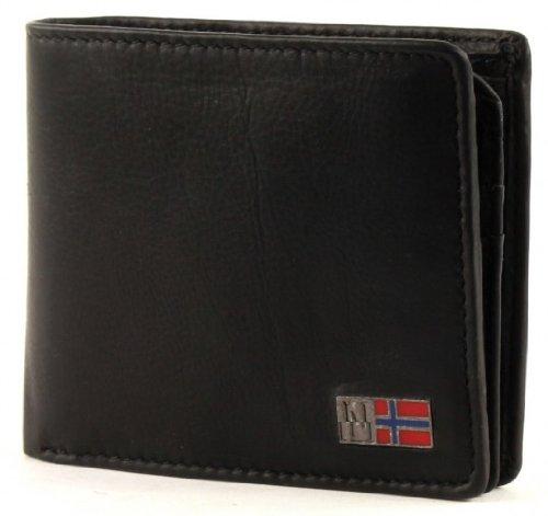 NAPAPIJRI Mandal Billfold 8 Coinpocket Black d'occasion  Livré partout en Belgique