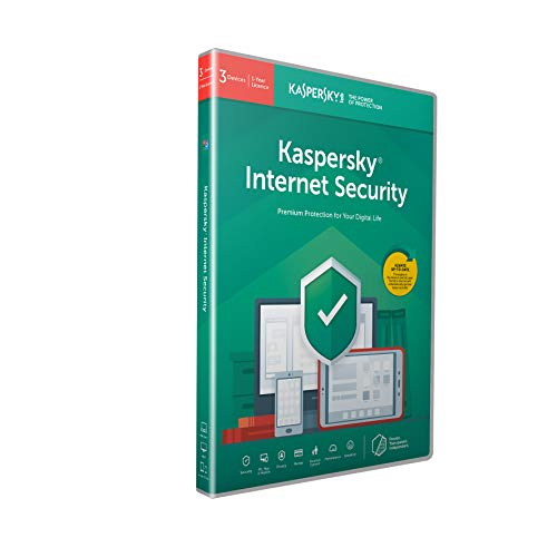 Kaspersky Internet Security 2018 | 3 Dispositivi | 1 Anno | PC/Mac/Android | Codice all'interno di una confezione