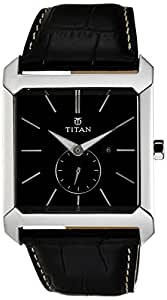 Titan Purple Analog Black Dial Men's Watch - NC9349SL01J
