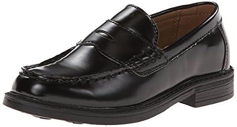 Classroom School Uniform Shoes Ivy Penny Loafer (Little Kid/Big Kid),Black,3.5 M US Big Kid