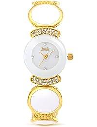 Barbie W50566L.01A Reloj de Pulsera de Cuarzo de Estilo Elegante Correa de Cadena