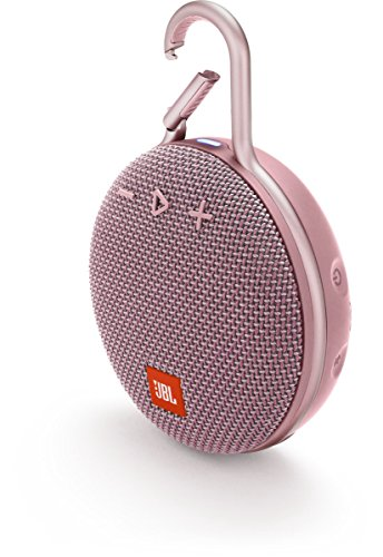 JBL CLIP 3PINK Portable Bluetooth Speaker - Soft Pink Best Price and Cheapest