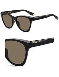 GIVENCHY Givenchy Damen Sonnenbrille » GV 7002/S«, schwarz, D28/85 - schwarz