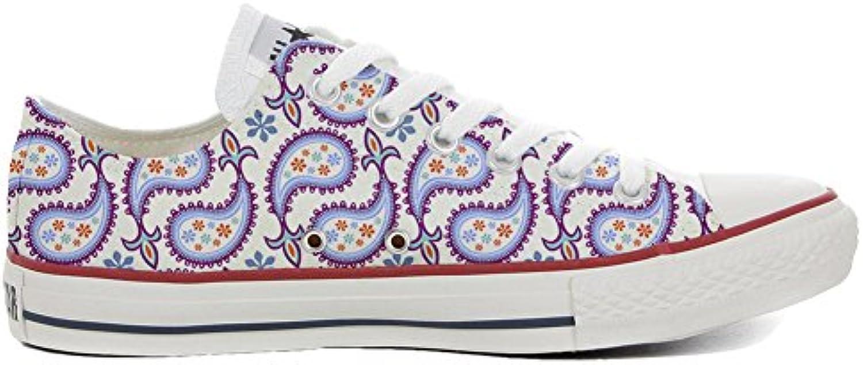 Converse All Star Zapatos Personalizados (Producto Artesano) Decorative Paisley  -