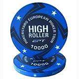 Fiches Ceramica EPT High Roller Replica Valore 10K