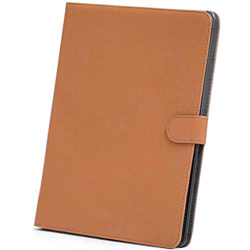 HSRpro Matt Hülle für Apple iPad 2 - iPad 3 - iPad 4 - Tasche Cover Case Etui Schutzhülle mit Inner Schale und Guten Haltegefühlen in Hellbraun (Bookbook Ipad 3)