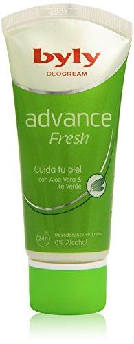 Byly - DeoCream Advance Fresh 24h - Desodorante en crema con Aloe Vera & Té Verde - 50 ml