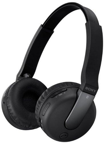 Sony Wireless Headset BTN200M mit NFC,Bluetooth 3.0 - Schwarz (Sony Portable Headset)