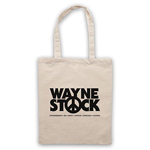 Ispirato Da Waynes Mondo 2 Waynestock Borse Non Ufficiali Del Capo, Naturalmente