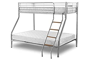 Heartlands Furniture Alexa Bunk Bed, Triple - Parent