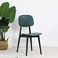 WLGC Chair, Plastic Candy Stool, Simple Creative Nordic Style, Suitable For Home Coffee Shop Restaurant Bar Makeup Lounge Chair,Green