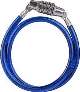 Delhi Traderss Helmet Lock Bike Number Lock (Blue Pack of 1)