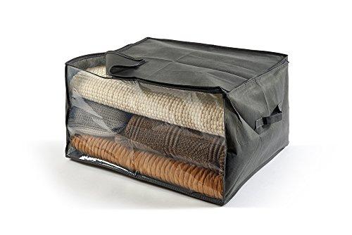 Perfekt Mehr Easybag Sack Tasche TNT Quilts und Bettdecken, Stoff, Asche, 60.0x 50.0x 35.0cm