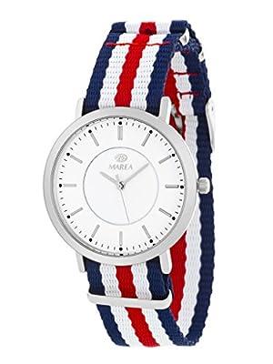 Reloj Marea Hombre B21164/5 Azul, blanco y Rojo