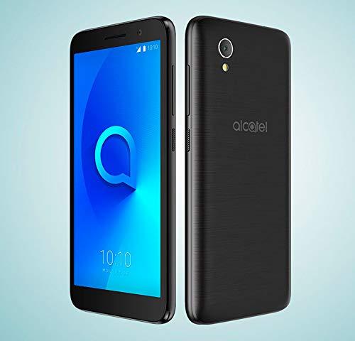 Alcatel 1 - Smartphone de 5' (Quad-Core 1.28 MT6739, RAM de 1 GB, memoria de 8 GB, cámara de 5 MP, Android 8.0 GO), Dorado