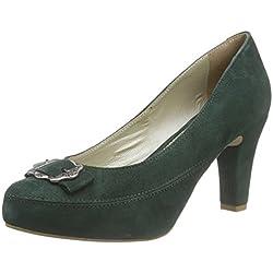 Stockerpoint Schuh 6000, Damen Pumps, Grün (tanne), 37 EU