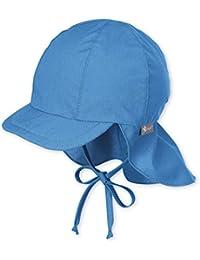 Sterntaler Schirmmütze mit Bindebändern und Nackenschutz