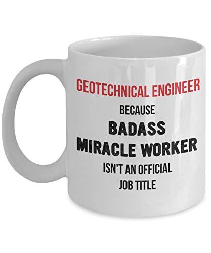 Duang Geschenk für Geotechnik-Ingenieur-Becher Beste Kaffee-Idee lustiger Badass-Wundertäter-Neuheits-Becher er Mann-Mitarbeiter-Abschluss
