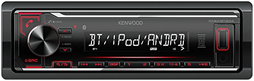 Ipod Fm Radio Remote (Kenwood KMM-BT204 Digital Media Receiver mit Bluetooth-Freisprecheinrichtung und Apple iPod-Steuerung schwarz)
