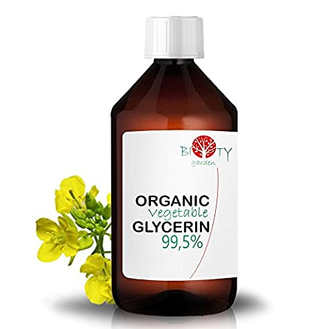 biOty garden Bio-Glycerin Gemüse Glycerin Öl 99.5% (500 ml)