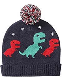 ALLAIBB Bebé Unisex Sombrero de Punto Lindo Dibujos Animados Dinosaurio  Otoño Invierno ... ac0b564ef43