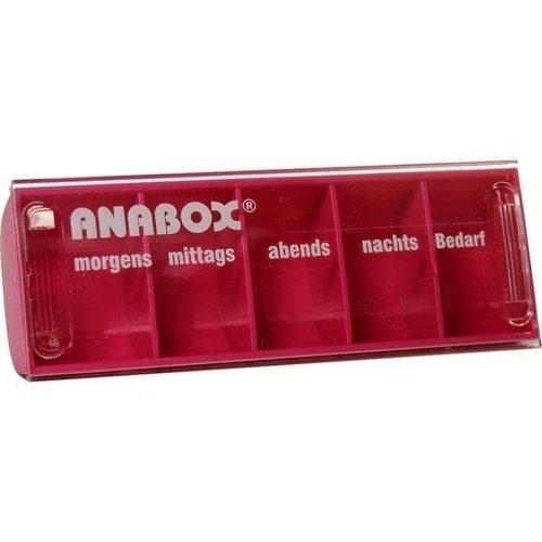 Anabox Tagesbox Tablettendosierer pink, 1 St