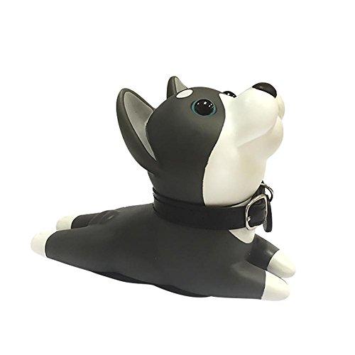Waroomss Netter Hund Türstopper, Dekorative Tür Keil Nicht Kratzen und Starker Griff-Beleg-Beständiger Kreativer Karikatur-Hundetür-Anschlag für Hauptdekoration
