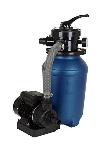 T.I.P. Schwimmbad-Filter-Set SPF 180 E Sandfilteranlage Poolfilter Filteranlage