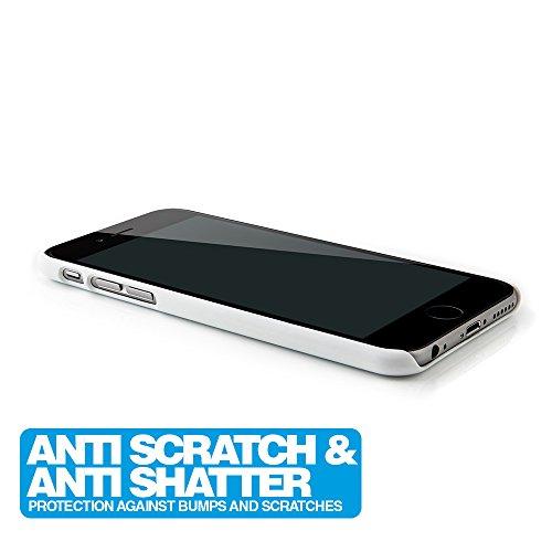 iPhone 6 6s Hülle Hollow Flower Case Schutzhülle 4,7'' Zoll in aufregenden Farbe lila - Idealer Schutz für iPhone6 weiß