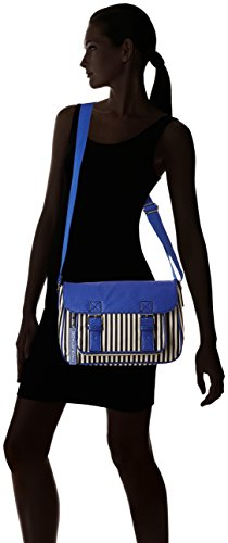 Paquetage Gibeciere, Sac messenger 057/Rayures Bleues