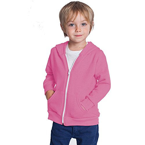 Home ware outlet Kids Unisex Plain Fleece Hoodie Hoody Hoodies Girls Boys Sweatshirt Zipper Years 3-13