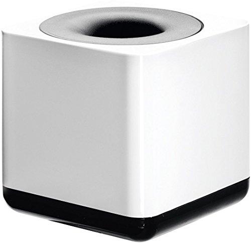 HAN Klammernspender i-Line 17652-32 in Weiß-Schwarz / Eleganter, moderner Büroklammernspender mit...