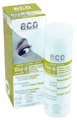 eco cosmetics LSF 15 Gesichtscreme, 1er Pack (1 x 50 ml)