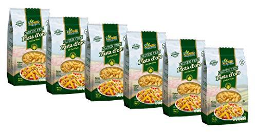 Pasta d´oro - Glutenfreie Nudeln Rigatoni aus Maismehl 12er Pack (12 x 500 g)