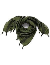 NiceButy táctico desierto el pañuelo pañuelo árabe verde y tímida; Ropa y Accesorios