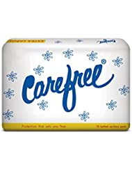 Carefree Sanitary Napkins XL , Belted , Extra Large (10 Count)