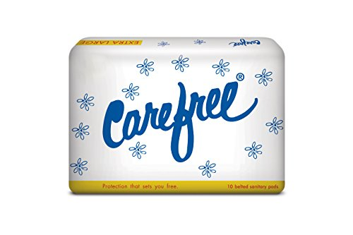 Carefree Sanitary Pads – XL (10 pads)