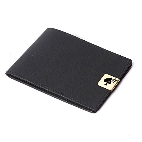 Jade Spade Leather Black Men's Wallet