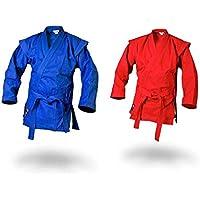 Ju-Sports Sambo Chaqueta de kurtka de Color Azul Incluye Cinturón, Unisex, Color Azul, tamaño 160