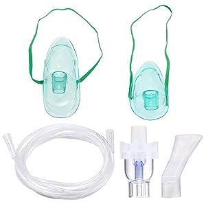 Vernebler Set Nebuliser Zubehr Geeignet für alle Maschinen, Inklusive Tube,Maske Inhalator, Kindermaske, Inhalator Mundstcke, Medizin Cup etc